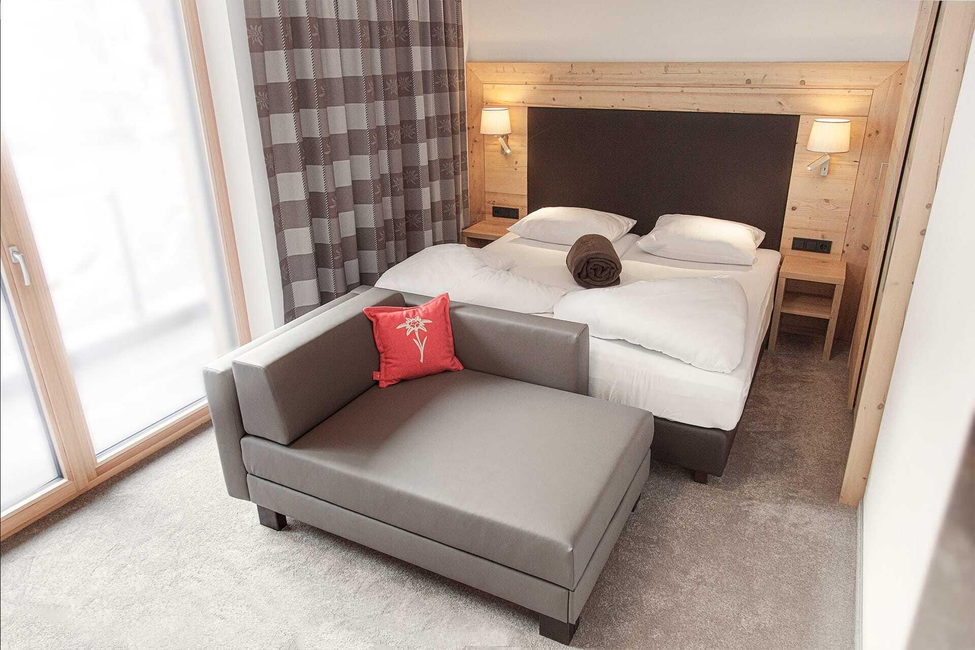 Schlafzimmer Ferienwohnung Adler