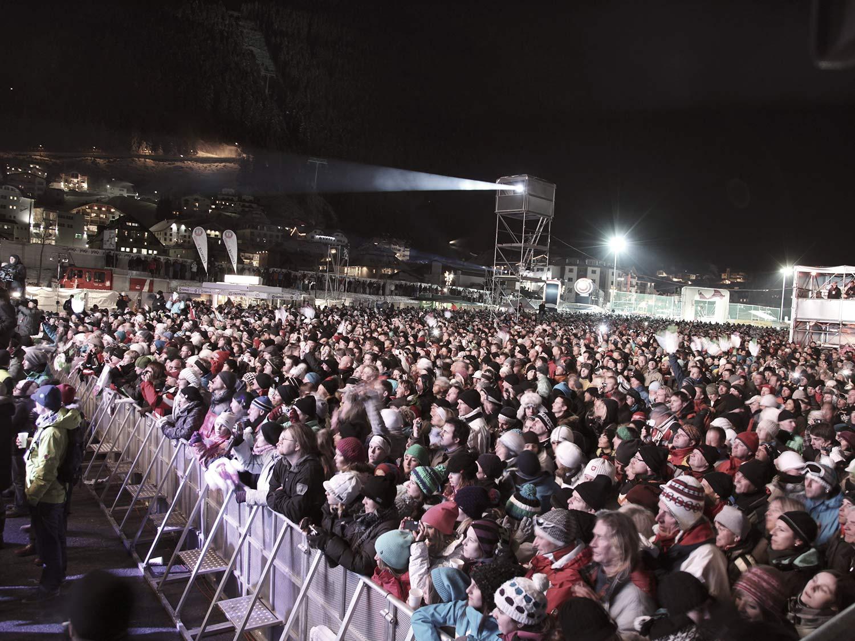 Mega Veranstaltungen in Ischgl